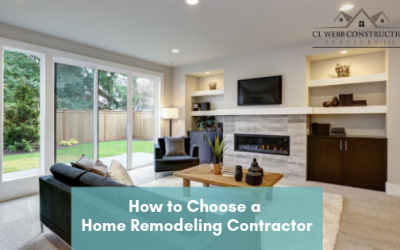 How to Choose a Home Remodeling Contractor for Your Project