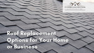 roof replacement, metal roofing, shingle roofing, benefits, disadvantages, upgrades, home repairs, new home construction Springdale Arkansas