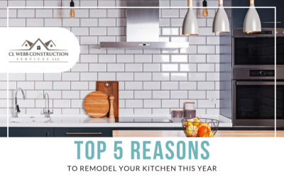 Top 5 Reasons to Remodel Your Kitchen This Year