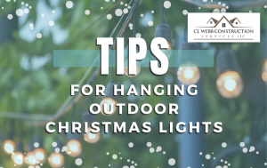hanging outdoor christmas lights, tips, decorations, holiday season help